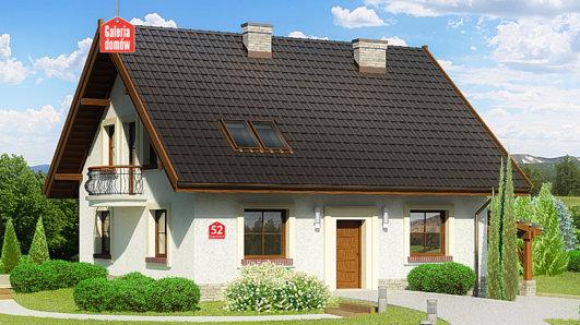 Projekt domu - Dom przy Cyprysowej 52