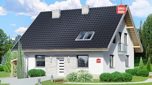 Projekt domu - Dom przy Cyprysowej 53 N