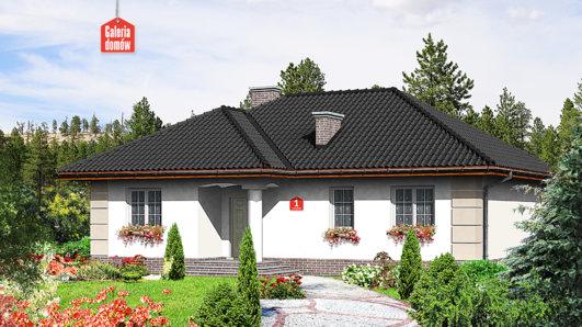 Projekt domu - Dom przy Łabędziej