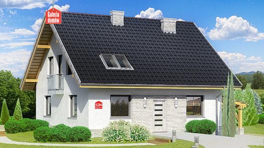 Projekt domu - Dom przy Cyprysowej 52 N
