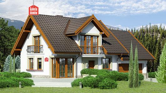 Projekt domu - Dom przy Wiosennej 19