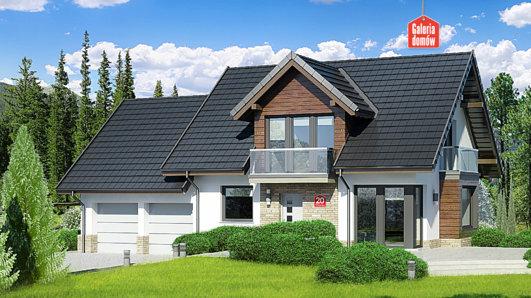 Projekt domu - Dom przy Wiosennej 20