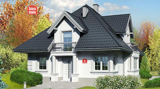 Projekt domu - Dom przy Sielskiej 6