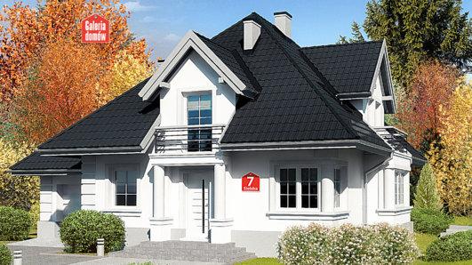 Projekt domu - Dom przy Sielskiej 7