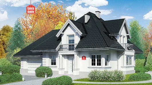Projekt domu - Dom przy Sielskiej 8