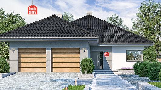 Projekt domu - Dom przy Pastelowej 11 bis