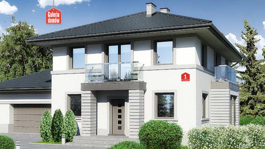 Projekt domu - Dom przy Diamentowej