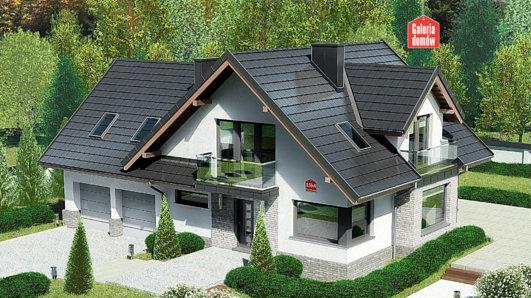 Projekt domu - Dom przy Cyprysowej 15 K4