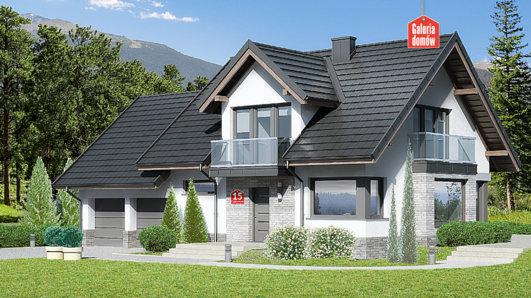 Projekt domu - Dom przy Cyprysowej 15 DN2