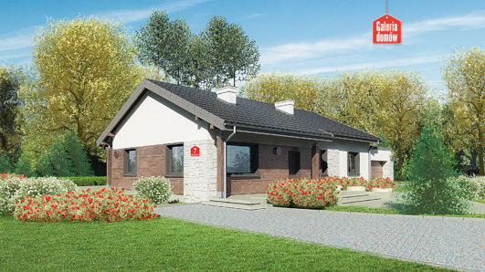 Projekt domu - Dom przy Bukowej 7