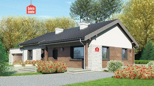Projekt domu - Dom przy Bukowej 8