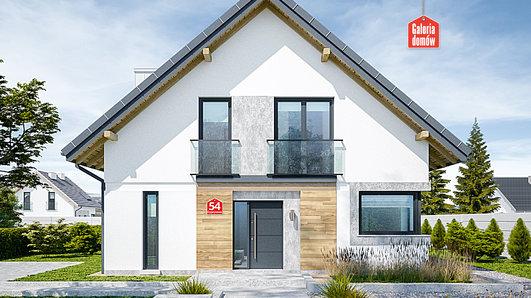 Projekt domu - Dom przy Cyprysowej 54