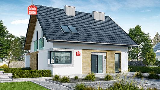 Projekt domu - Dom przy Cyprysowej 55