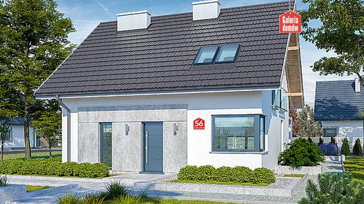 Projekt domu - Dom przy Cyprysowej 56