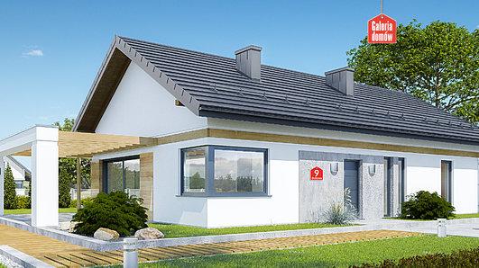 Projekt domu - Dom przy Bukowej 9