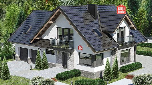 Projekt domu - Dom przy Cyprysowej 15 K5