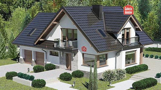 Projekt domu - Dom przy Cyprysowej 15 K6