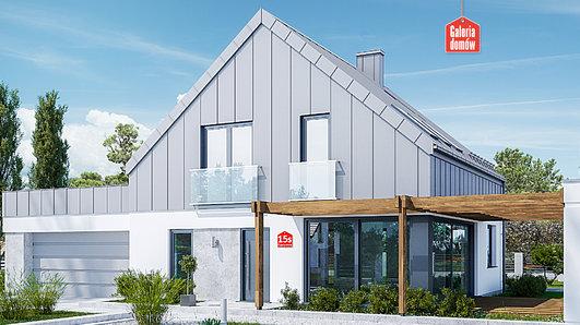 Projekt domu - Dom przy Cyprysowej 15 S3
