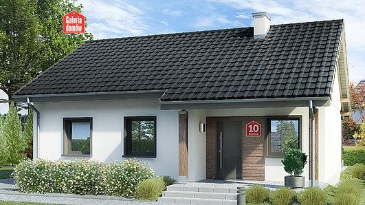 Projekt domu - Dom przy Bukowej 10