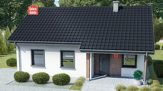 Projekt domu - Dom przy Bukowej 11
