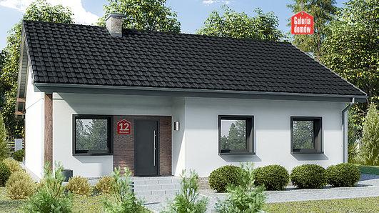 Projekt domu - Dom przy Bukowej 12