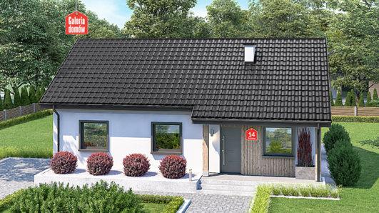 Projekt domu - Dom przy Bukowej 14