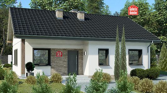 Projekt domu - Dom przy Bukowej 15