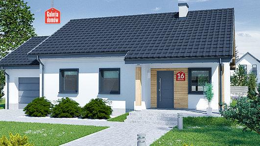 Projekt domu - Dom przy Bukowej 16