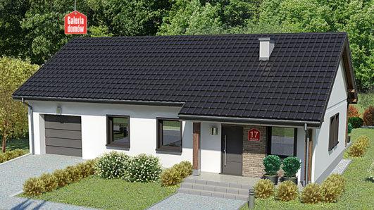 Projekt domu - Dom przy Bukowej 17