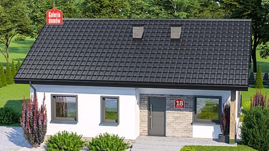 Projekt domu - Dom przy Bukowej 18