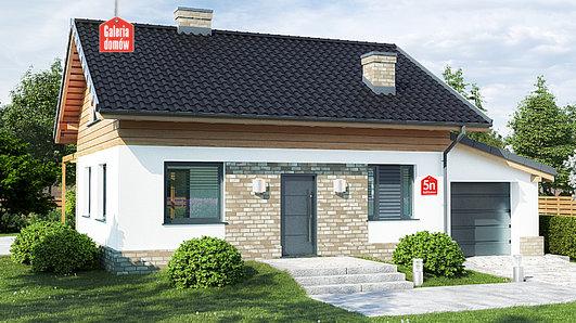 Projekt domu - Dom przy Imbirowej 5 N