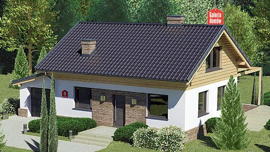 Projekt domu - Dom przy Imbirowej 6 N