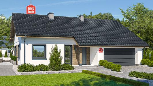 Projekt domu - Dom przy Przyjemnej 19 bis