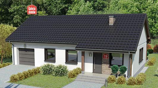 Projekt domu - Dom przy Bukowej 19