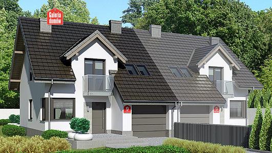 Projekt domu - Dom przy Amarantowej 9