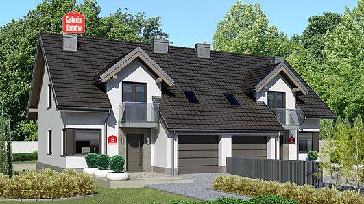 Projekt domu - Dom przy Amarantowej 8
