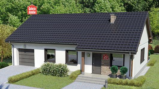 Projekt domu - Dom przy Bukowej 20