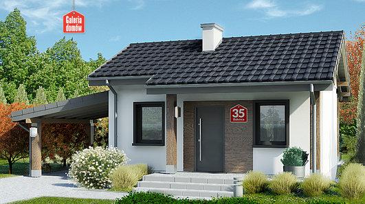 Projekt domu - Dom przy Bukowej 35