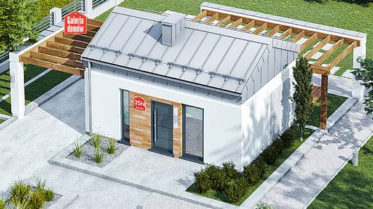 Projekt domu - Dom przy Bukowej 35 N