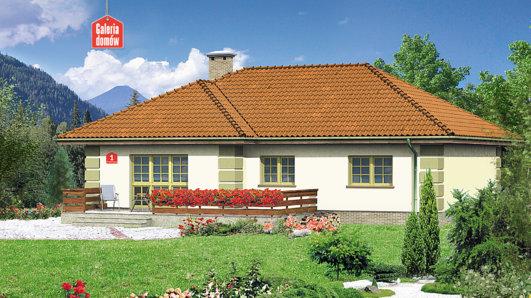 Projekt domu - Dom przy Orzechowej