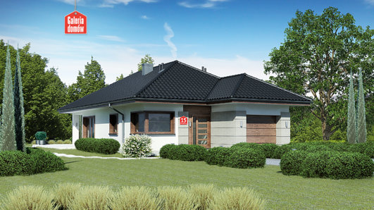 Projekt domu - Dom przy Pastelowej 15 bis