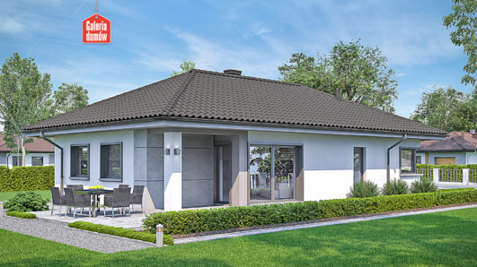 Projekt domu - Dom przy Pastelowej 16