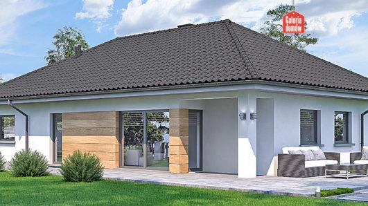 Projekt domu - Dom przy Pastelowej 16 bis