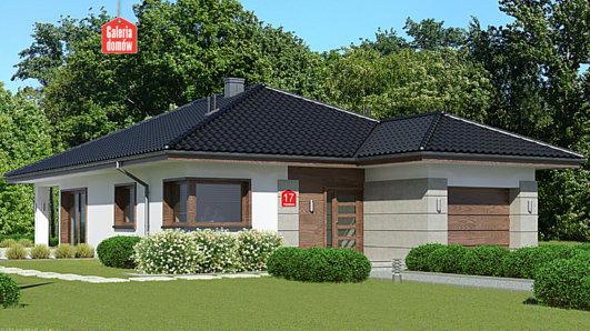 Projekt domu - Dom przy Pastelowej 17