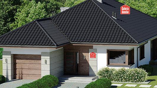 Projekt domu - Dom przy Pastelowej 17 bis