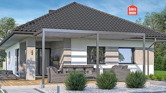 Projekt domu - Dom przy Pastelowej 18 bis