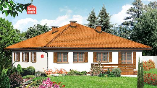 Projekt domu - Dom przy Słonecznej