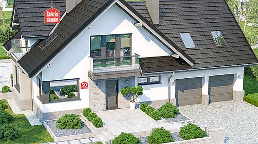 Projekt domu - Dom przy Cyprysowej 50