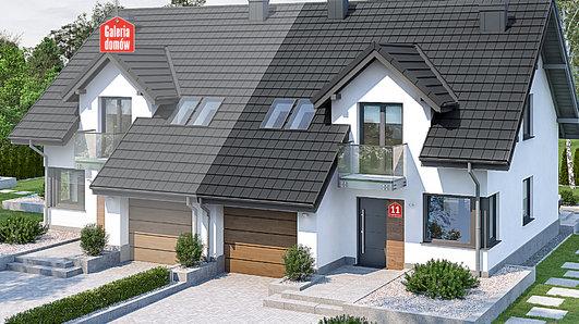 Projekt domu - Dom przy Amarantowej 11