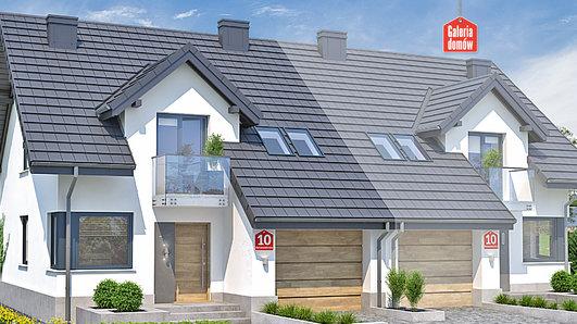 Projekt domu - Dom przy Amarantowej 10